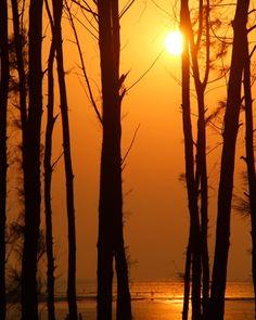 #Sunset at #beach