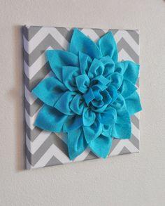 printable art set turquoise teal gray art printable wall art