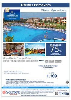 Riviera Maya - 75% Dto.Acompañante en Grand Bahía Príncipe Riviera Maya, salidas 12 y 19 Abril desde Madrid ultimo minuto - http://zocotours.com/riviera-maya-75-dto-acompanante-en-grand-bahia-principe-riviera-maya-salidas-12-y-19-abril-desde-madrid-ultimo-minuto/