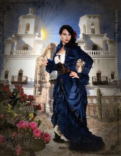 Film Quality Costume Design, Video Productions and Digital Art New West, Victorian Steampunk, Ravenna, Cowgirls, Wild West, Costume Design, Old And New, Indigo, Costumes