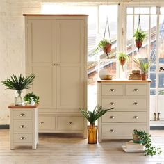 Lundy Stone Grey 2 Drawer Wardrobe and Chest of Drawers with Free Delivery from The Cotswold Company. Grey Furniture, Oak Furniture, Country Furniture, Country Home, Country Styling, Quality Oak FUrniture, Country Interiors, Painted Bedroom Furniture, Chest of Drawers, Macrame, Hanging Plants, Indoor Plants.