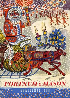 Edward Bawden for Fortnum & Mason