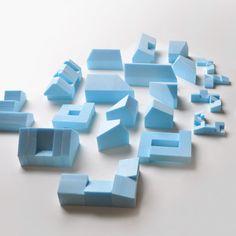 Hamptons House Study Models #architecturemodel #studymodel #architecture