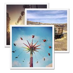 """Whether you will put your photos on frames, albums, pin these on the wall or paste these on a scrapbook, to make your pictures look fantastic, we recommend our magnificent 3x3"""" square Instagram prints with 1/8"""" elegant white border. They are only 25 cents/each!"""