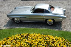 1954 Fiat 8V Supersonic by Ghia, one of eight built.