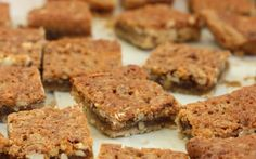 The Clara Project: pecan pie bar cookies.