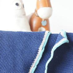 Homemade. Crochet baby cardigan.