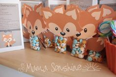 LOTS of ideas for Woodland Creatures themed baby shower