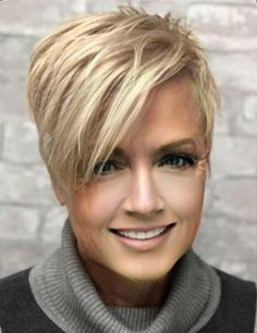 GREAT CUT 10 short hairstyles with a weird pony who are worth the effort to try . - Short HairGREAT CUT 10 short hairstyles with a weird pony who are worth the effort to try them out! Short Pixie Haircuts, Pixie Hairstyles, Cool Hairstyles, Short Funky Hairstyles, Hairstyles For Older Women, Messy Pixie Haircut, Pixie Haircut Styles, Popular Short Haircuts, Edgy Haircuts