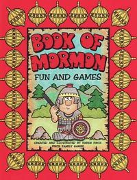 BOOK OF MORMON FUN AND GAMES (FHE) File Folder Game printables