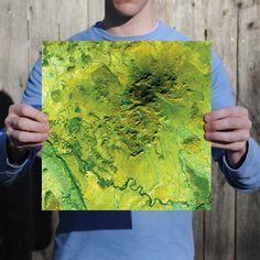 Big Bend National Park Print from City Prints Map Art.