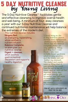 Are you in need of a detox?  This 5 Day Nutritive Cleanse by Young Living is not only extremely easy to do, but you'll actually be full of energy and nutrients on this cleanse.