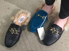 Gucci Princetown DIY Slide Sandals, Gucci, Diy, Crafts, Shoes, Fashion, Sandals, Moda, Manualidades