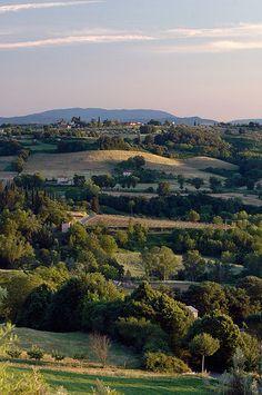 View from Villa Lecchi - Tuscany, Italy