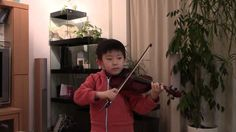 F.J.Gossec - Gavotte (Suzuki Violin 1-17); スズキ1巻最後の曲。ゴセックのガボット。前期初等科卒業曲です。 See more of this young violinist #from_HaruyasViolin