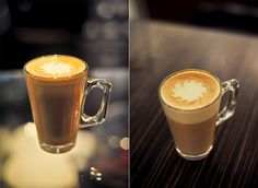 Casa de Caisa: Orange Sunset Latte