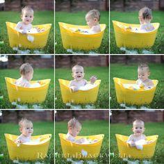outside cake smash ideas | Baby Photoshoot Ideas Outside
