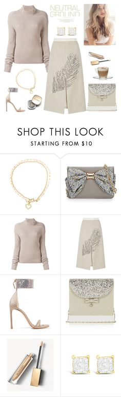 """""""Neutral Ground"""" by rever-de-paris ❤ liked on Polyvore featuring Astley Clarke, Betsey Johnson, Rick Owens, Tory Burch, Stuart Weitzman, Monsoon, Burberry, Dolce&Gabbana, neutrals and contestentry"""
