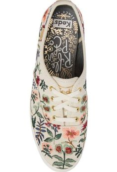 92419460cbaf Keds® x Rifle Paper Co. Herb Garden Embroidered Sneaker (Women) | Nordstrom