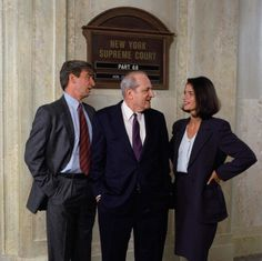 Law & Order - Steven Hill, Jill Hennessy and Sam Waterston