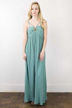 Garden Green Maxi Dress - Maude