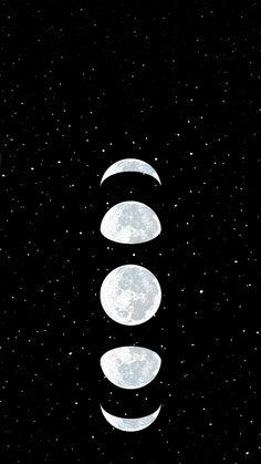 Wallpaper Moon by Gocase – Galaxy Art Black Phone Wallpaper, Phone Screen Wallpaper, Tumblr Wallpaper, Cellphone Wallpaper, New Wallpaper, Galaxy Wallpaper, Pattern Wallpaper, Wallpaper Backgrounds, Cute Wallpapers