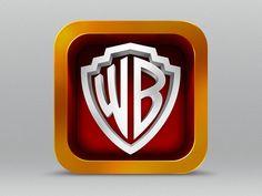 warner bros #ios #icon #design #inspiration #mobile #apps