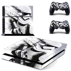 PS4 Console Skin - Star Wars Collectio #ps4 Console Skin - Star Wars Collection