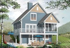 1000 images about garage apartment house plans on for Rivendell cottage house plans