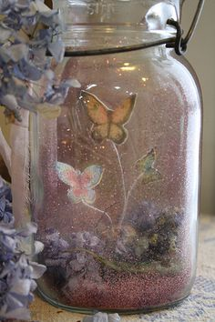 Fairy tale craft project - very neat, maybe add some white lights inside