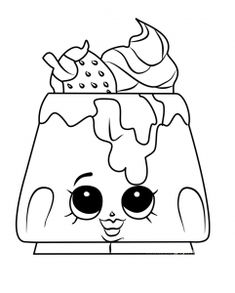 Shopkins Coloring Pages Season 2 (Bakery) - Free download images with lovely and cute cupcakes, cookies, cakes, and more lovely coloring sheets. If you would like to also check the previous season of the lovely Shopkins visit this link.Shopkins are a range of tiny, collectible toys,...