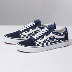 0d98a3878c4f67 Checker Flame Old Skool Tenis Old School
