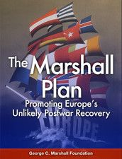 The Marshall Plan (1948-1951), also known as the European Recovery Program, was a program sponsored by the US  in which the US aided the economies of 17 Western European countries in order to create conditions in which democracies could prosper in fear of communist parties appealing to voters due to the poor conditions in Europe at the time (poverty, unemployment, and dislocation of the post-World War II period).