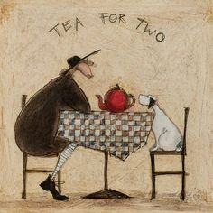 Leinwandbild Tea For Two Von Sam Toft Jetzt Bestellen Unter:  Https://moebel.ladendirekt.de/dekoration/bilder Und Rahmen/bilder/?uidu003d976cdc90 7c32 5246 Ae77   ...