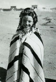 Africa: Berber child, Morocco, Old photo