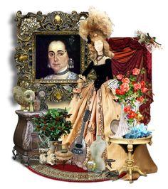 """""""María Rosa de Salazar y Gabiño, II Condesa de Monteblanco"""" by sh0shan ❤ liked on Polyvore featuring moda"""