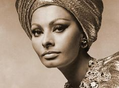 Prada recently brought back the turban trend similar to the one Sophia Loren once wore.