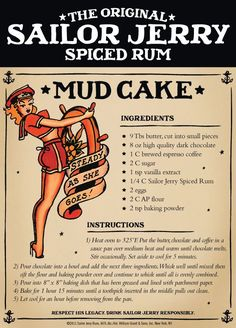 10 Recipes made with Sailor Jerry Rum! @Amanda Snelson Linn, are you excited??