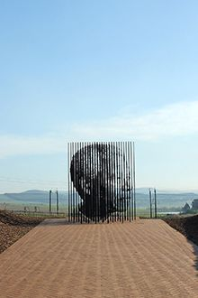 The Nelson Mandela capture site in Howick, KwaZulu-Natal, South Africa African Life, African Art, Apartheid, African Sculptures, Kwazulu Natal, The Beautiful Country, Africa Travel, Places To Visit, Around The Worlds
