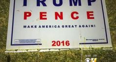 'Deplorable' suspect draws blood from poll worker by hiding box cutter blades in Trump-Pence sign