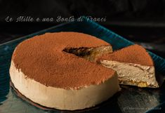 Torta gelato al tiramisù orizzontale