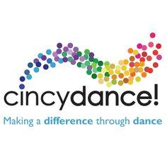 CincyDance! Cincinnati Logo Design design for our Cincinnati State Capstone! Never stop learning. Ballet Logo Design #logodesign #dance #color #ballet