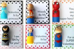 boys valentines diy   Homemade Valentine's Day cards by Crossing the Bugger-Dixon Line