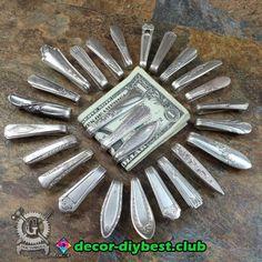 Garten   Garten Upcycled Crafts, Fork Jewelry, Metal Jewelry, Jewelry Necklaces, Fork Crafts, Silverware Jewelry, Recycled Silverware, Spoon Art, Great Gifts For Dad