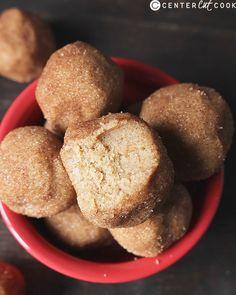 snickerdoodle cookie dough bites