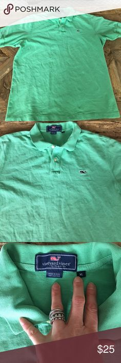 Vneyard Vines men's polo shirt Great shirt! Worn 2-3 times, excellent condition. Vineyard Vines Shirts Polos