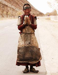 Pilgrim, Tibet… Namaste