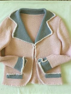 Вязание спицами. Жакет женский Girl Outfits, Sweaters, Handmade, Clothes, Fashion, Baby Clothes Girl, Outfit, Hand Made, Clothing