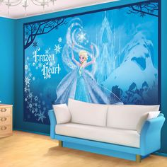 Disney Frozen Girls Bedroom PHOTO WALLPAPER WALL MURAL PICTURE (832P)