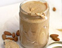 Homemade Raw (or Roasted) Almond Butter Recipe! I read several similar posts and this is my favorite. Lots of pictures of the different stages you will see in your food processor, and no tip-toeing around the fact that it takes a LONG (but not too long) time.